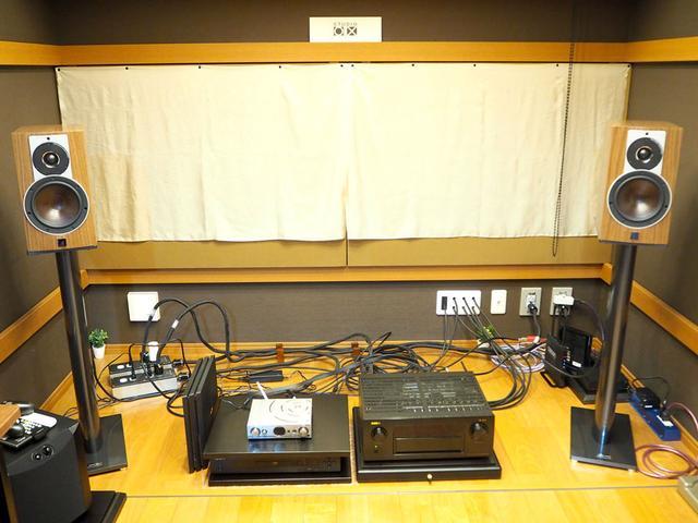 画像: 試聴システム