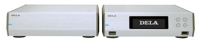 画像: 別筐体の電源を備えたHDDトランスポートの「N10」