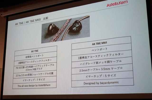 画像: AK T9iEとAK T8iE MkIIの相違点