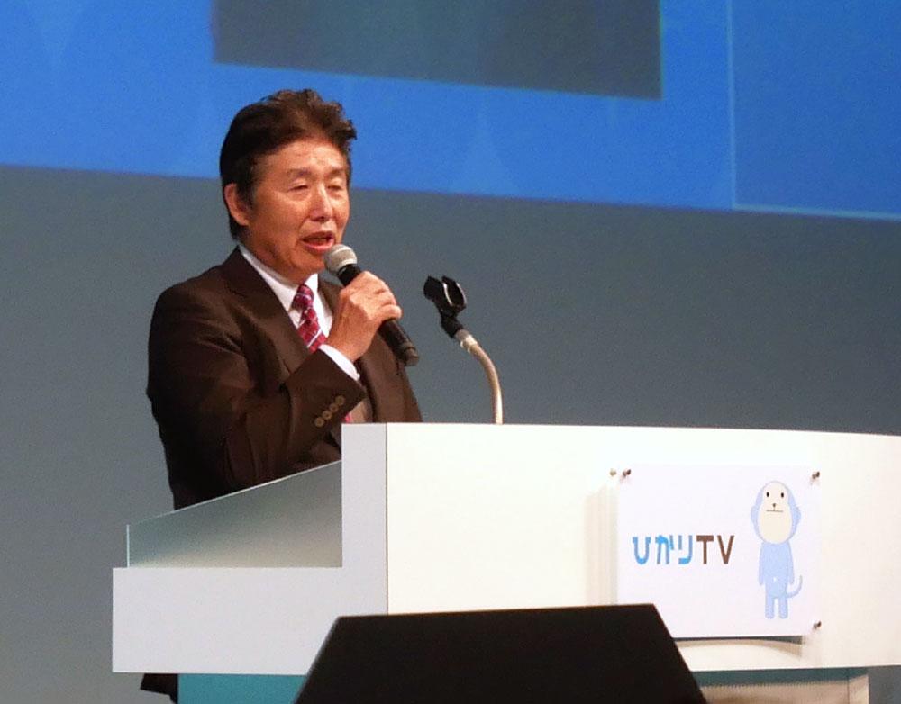 画像: NTTぷらら 板東浩二代表取締役社長