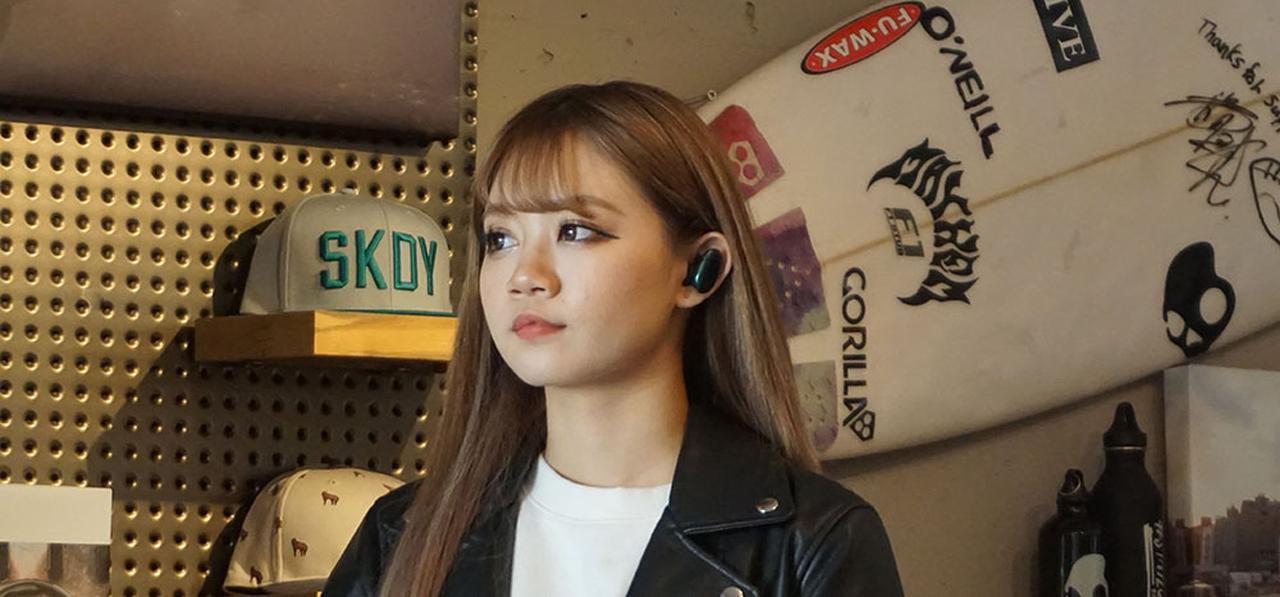 画像: スカルキャンディ初の、完全ワイヤレスイヤホン「Push」がデビュー。3月15日に¥12,900で発売される。「境界線のないサウンド」を楽しもう - Stereo Sound ONLINE