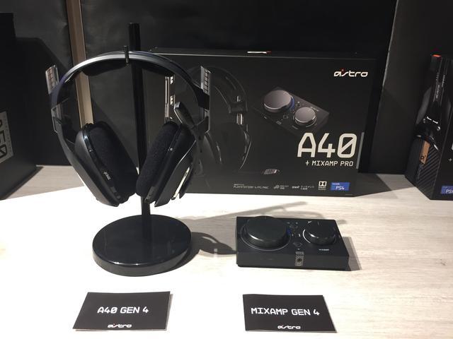 画像: 「ASTRO A40 TR ゲーミングヘッドセット」「ASTRO MixAmp Pro TR」
