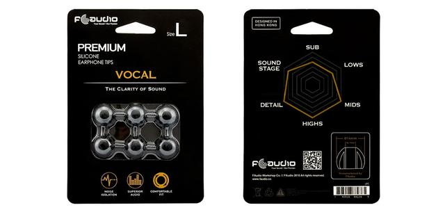 画像2: 香港のオーディオブランドFAudioから、好みの音色にチューニングできるイヤーチップ「FA Vocal」「FA Instrument」が6月13日に発売