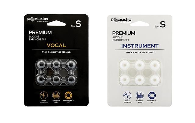 画像: FAudio 新製品 オリジナルシリコンイヤーチップ「FA Vocal」「FA Instrument」発売開始のお知らせ