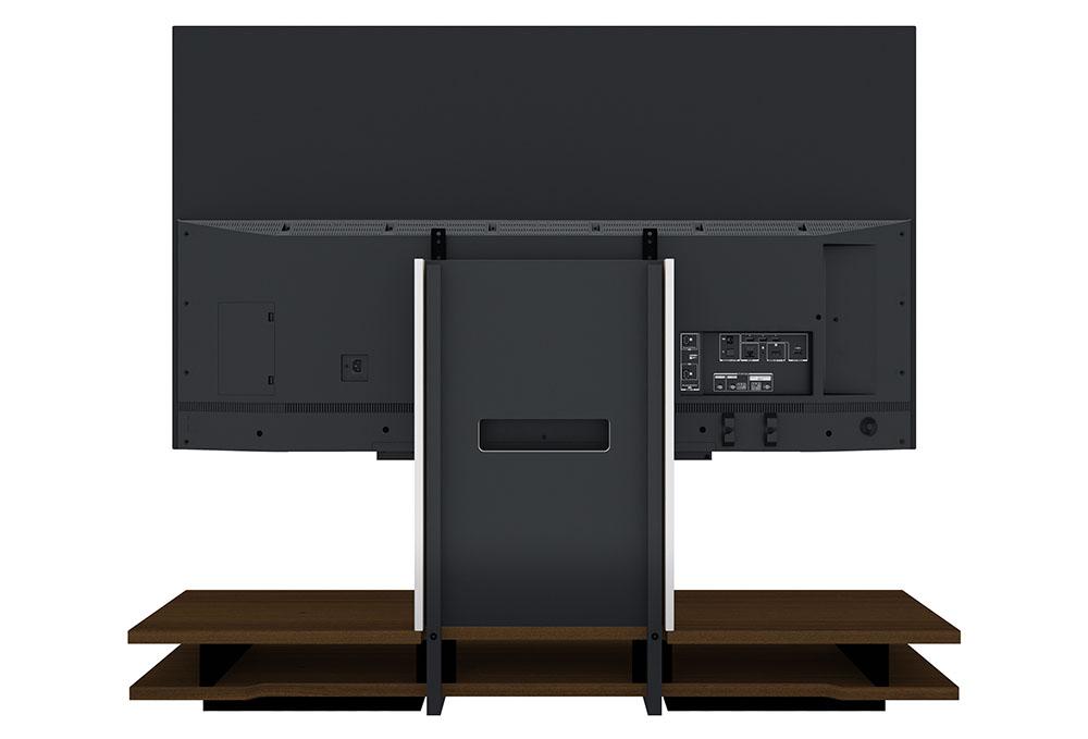 画像2: 工事なしで、レグザを壁掛け(風に)設置できる? 東芝映像ソリューションが、「レグザ純正テレビローボード」でテレビライフに変革をもたらす