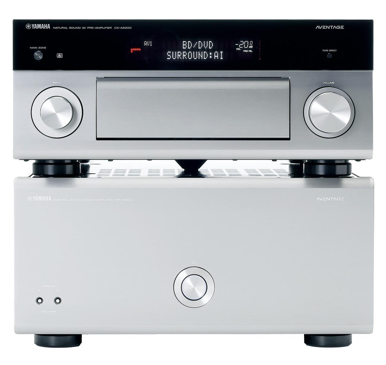 画像1: 第1位:ヤマハ CX-A5200+MX-A5200