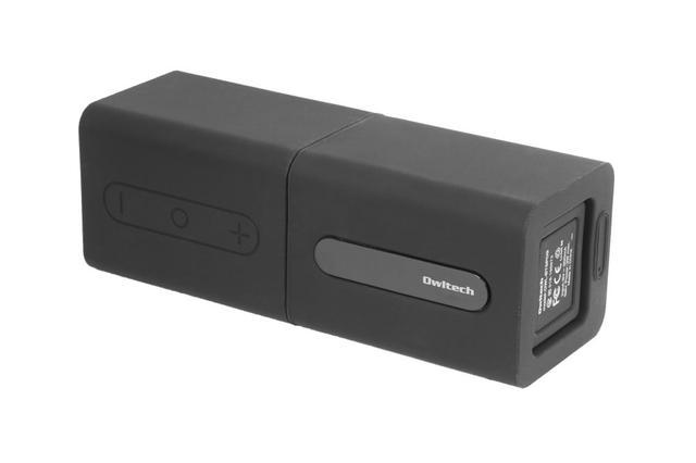 画像: ワイヤレススピーカー「OWL-BTSP09」。使わない時や持ち運び時は、くっつけておける