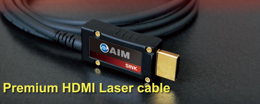 画像: プレミアムHDMIレーザーケーブル [LS2]   AIM電子 - オーディオ & ヴィジュアル製品