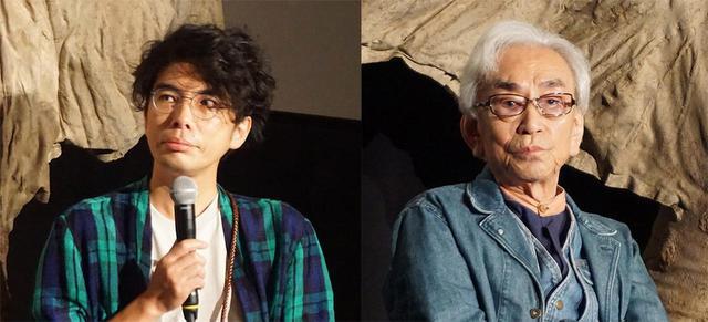 画像: 特別ゲストとして、俳優/彫刻家の片桐 仁氏(左)と特技監督の中野昭慶氏(右)が登場