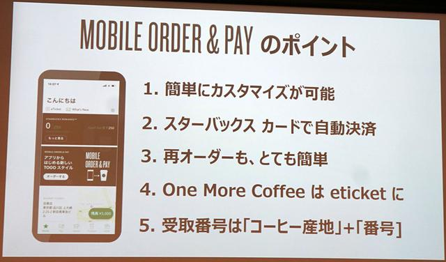 画像: スターバックスが、「Mobile Order & pay」サービスを、明日から都内56店舗でスタート! アプリからオーダーし、お店ですぐにコーヒーを受け取れる
