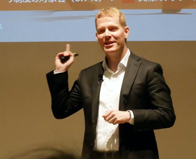 画像: レノボ・ジャパンのデビット・ベネット代表取締役社長