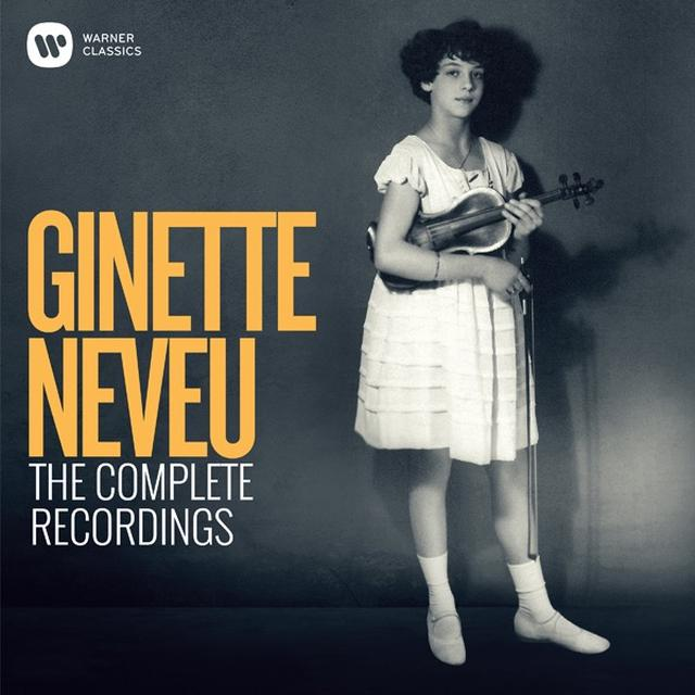 画像: Ginette Neveu: The Complete Recordings/Ginette Neveu