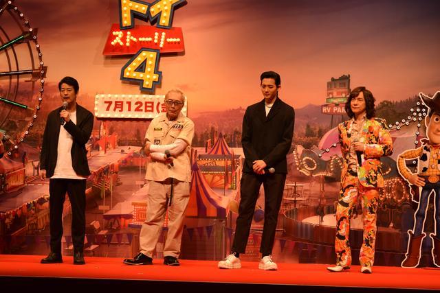 画像: 左から、唐沢寿明さん、所ジョージさん、竜星涼さん、ダイヤモンド☆ユカイさん