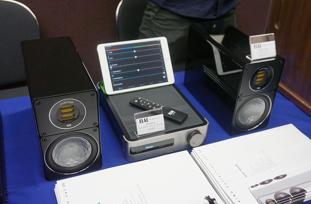 画像: プリメインアンプ「DS-A101-G」とスピーカーの「BS312 Jubilee」