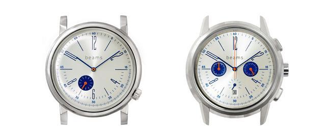 画像: wena wristとbeamsのコラボモデル第4弾。「WNW-HT22/S」(左)と「WNW-HC22/S」(右)