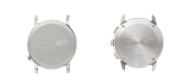 画像: 背面にもコラボモデル専用のロゴを刻印。左:WNW-HT22/S 右:WNW-HC22/S