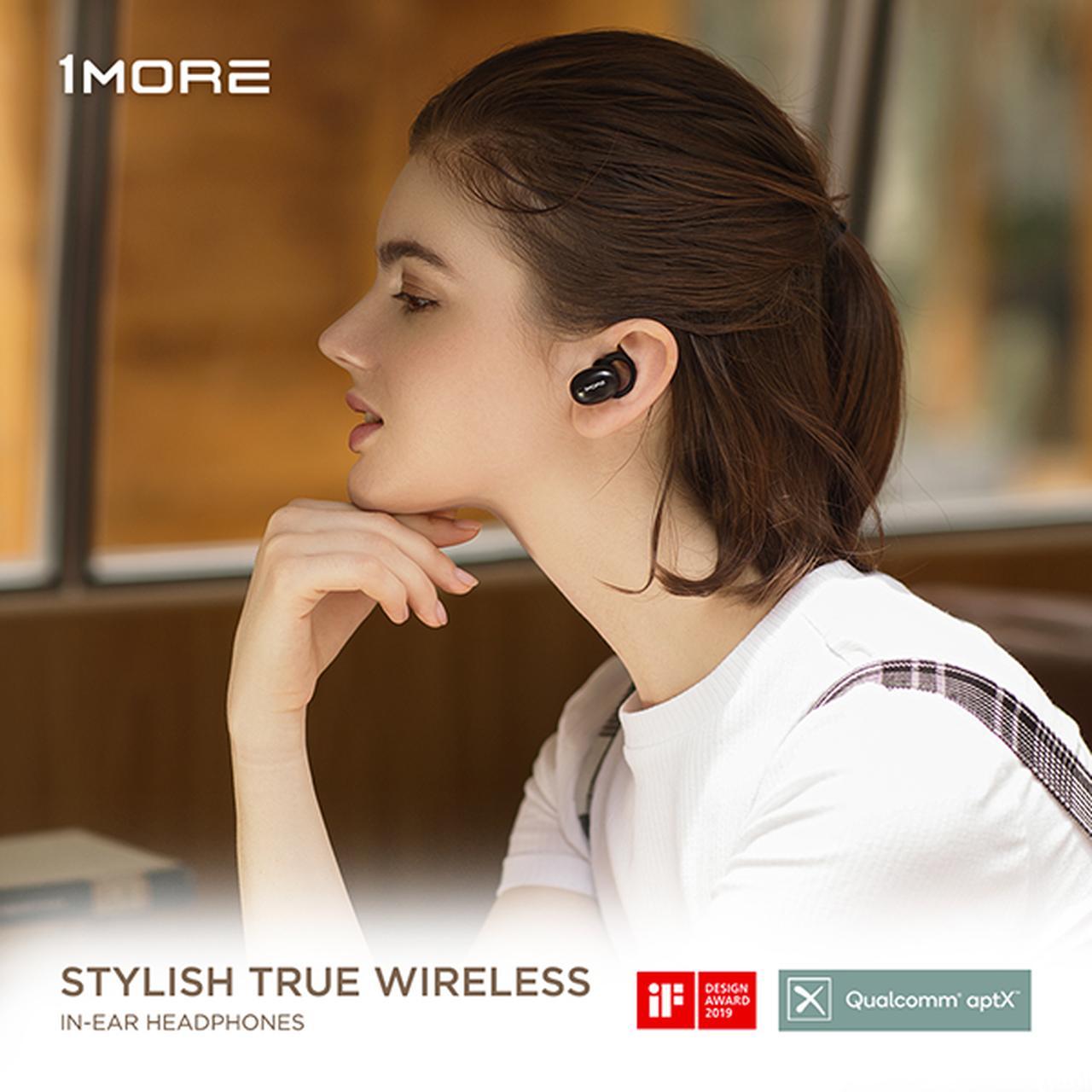 画像: 1MORE Stylish True Wireless In-Ear Headphone【E1026BT-I】の取扱い販売開始をいたします。 | 株式会社フリーウェイ