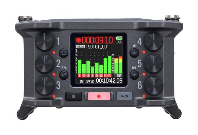 画像: ZOOM マルチトラック・フィールド・レコーダー 「F6」 2019年7月下旬発売 ※オープン価格