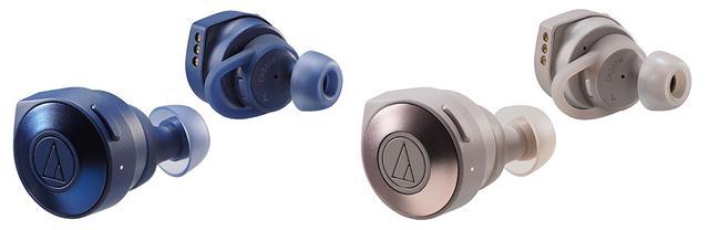 画像: ブルーとカーキもラインナップ。充電ケースも同じ仕上げとなる