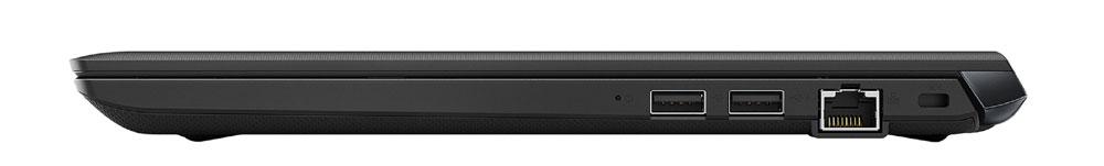 画像: S73の右側面。通常モデルはUSB タイプAポートが二つ装備される。LTEモデルはその一つが排他となり、ポートは一つとなる