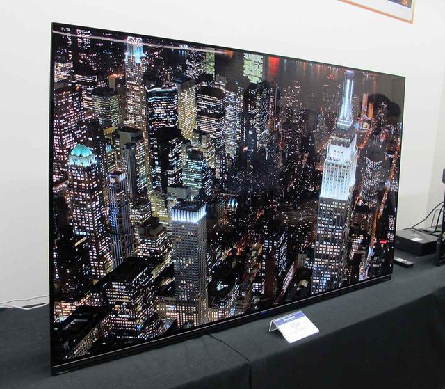 画像: 有機ELテレビのトップモデル「FE-65U7020」