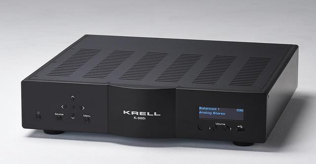 画像: 米国クレルからA級プリメインアンプ登場。デジタル入力対応のKRELL K-300i Digital