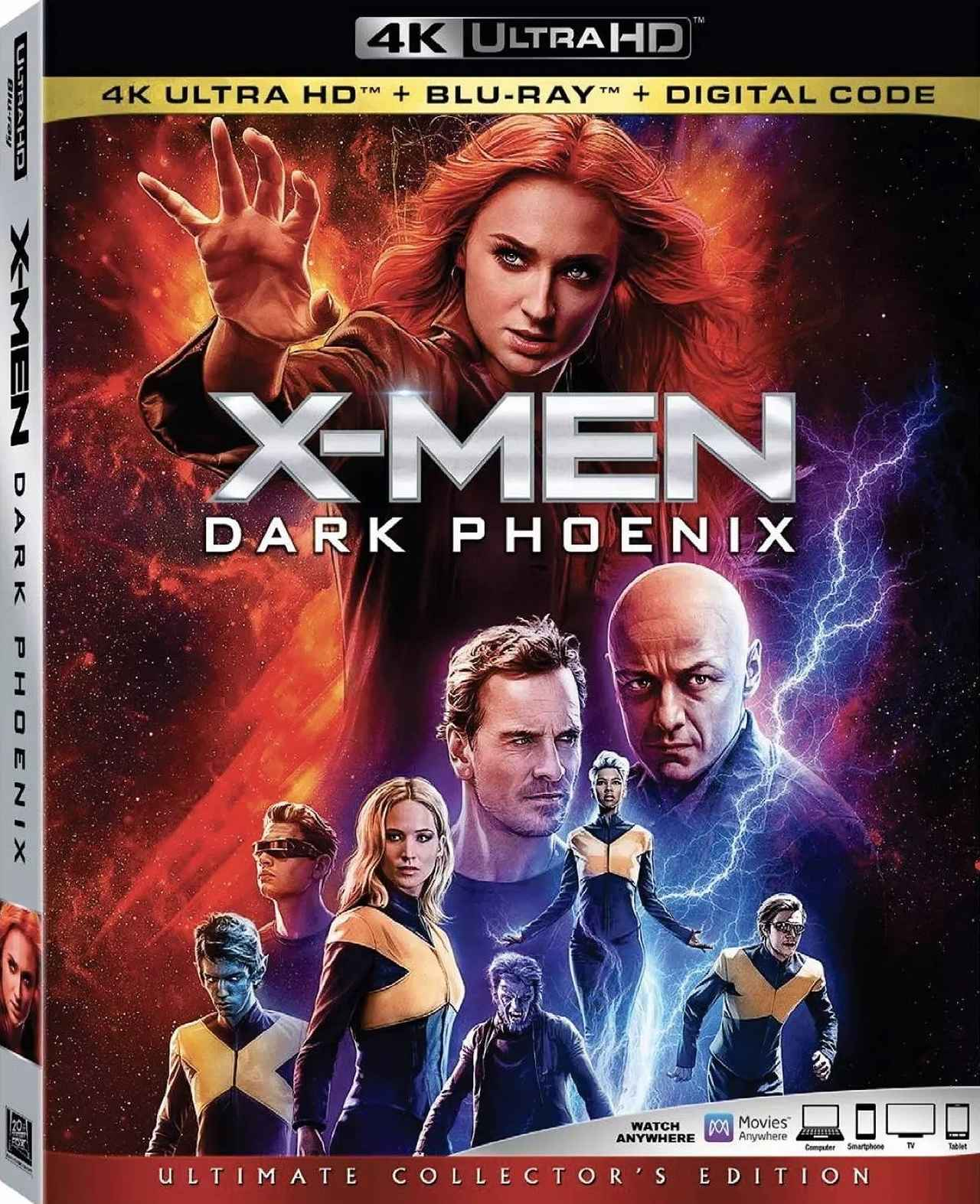 画像: 『X-MEN』シリーズ前日譚最終作『X-MEN:ダーク・フェニックス』【海外盤Blu-ray発売情報】