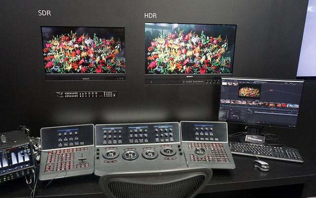画像: HDR映像とSDR映像を同時に作成できるハイブリッドグレーディングシステム