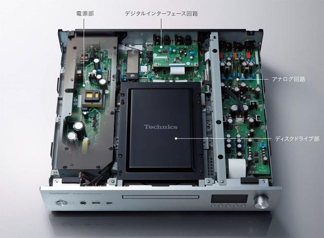 画像2: ディスクメディアファンに朗報! テクニクスからSACDディスクが再生できる、ネットワーク/SACD/CDプレーヤー「SL-G700」が登場。8月23日に定価¥280,000で発売