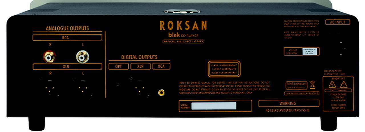 画像: ↑CDプレーヤーはコンベンショナルな構成と言っていい。デジタル音声出力にはXLR(AES/EBU)端子も備える