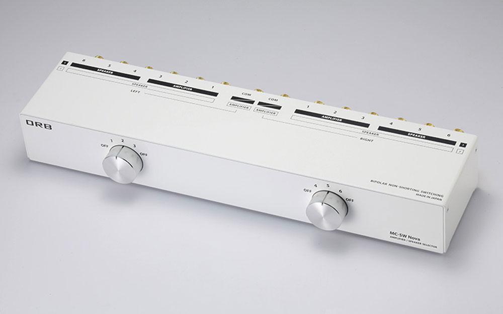 画像: スピーカー/アンプセレクターの新製品「MC-SW Nova」