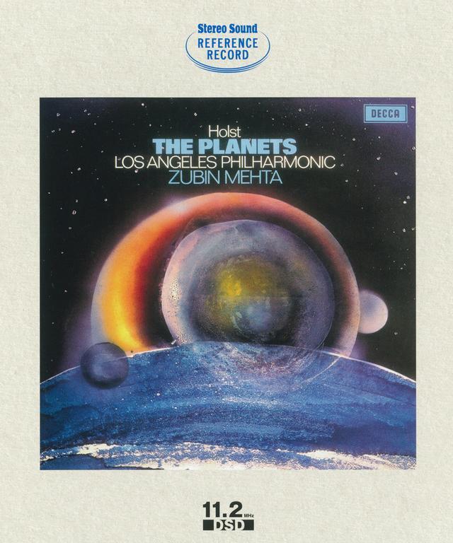 画像: 『ホルスト:組曲「惑星」/ズービン・メータ指揮ロサンゼルス・フィルハーモニー管弦楽団』(SSHRB-006)¥12,960(税込) ●原盤:デッカ ●録音:1971年4月19日 ロサンゼルス、UCLA、ロイス・ホール