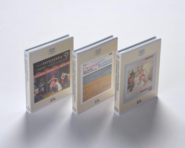 画像: ステレオサウンド社から発売している、DSD11.2MHz音源をBD-ROMに収めた「ハイレゾリューションマスターサウンドシリーズ」