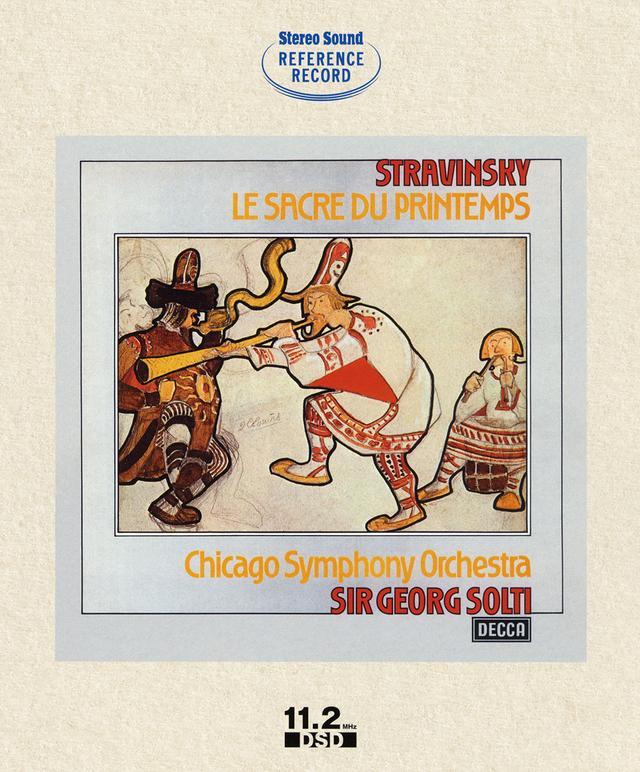 画像: 『ストラヴィンスキー:バレエ「春の祭典」/サー・ゲオルグ・ショルティ指揮シカゴ交響楽団』(SSHRB-001)¥12,960(税込) ●原盤:デッカ ●録音:1974年5月14日 シカゴ、メディナ・テンプル