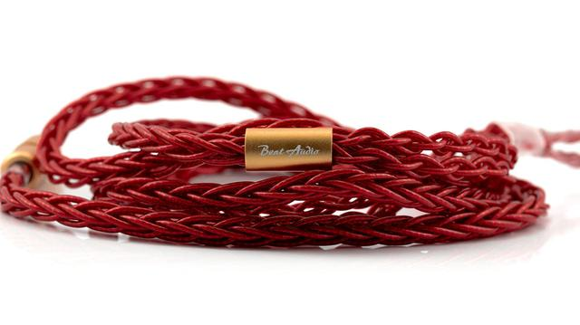 画像: 新リケーブル「Vermilion MKII 8-Wire」