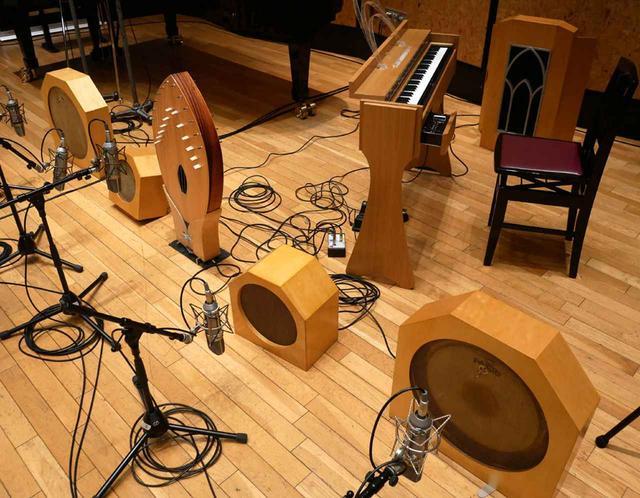 画像: オンド・マルトノ楽器の一群