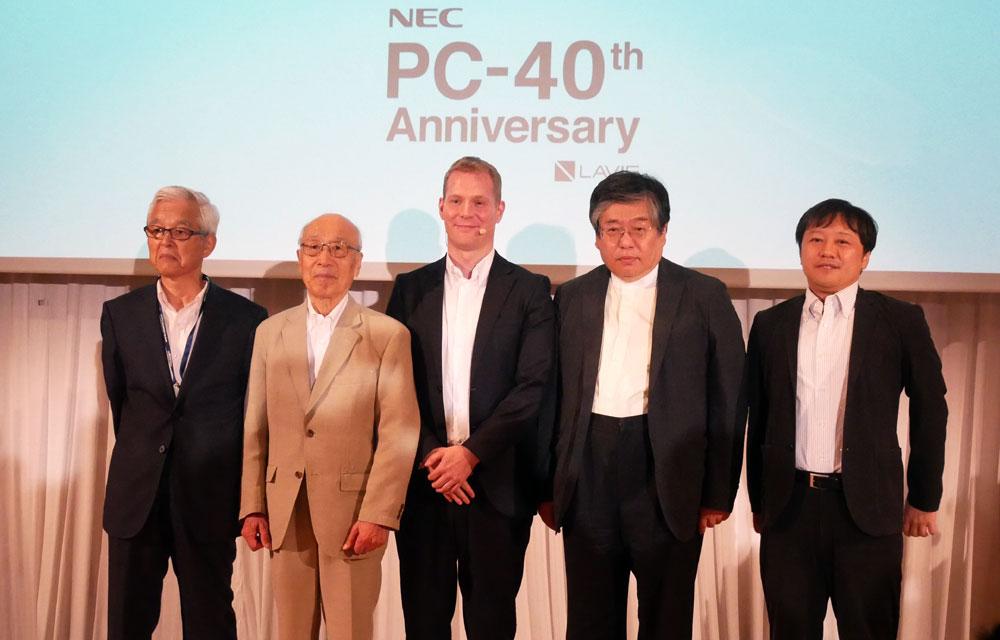 画像: NECパーソナルコンピュータ、「PC-8001」誕生40周年を記念したアニバーサリーノート「LAVIE Pro Mobile PM750/NAA」を8月8日に発売。注目は、直販サイト限定モデルに同梱されるPC-8001のミニチュア「PasocomMini PC-8001」