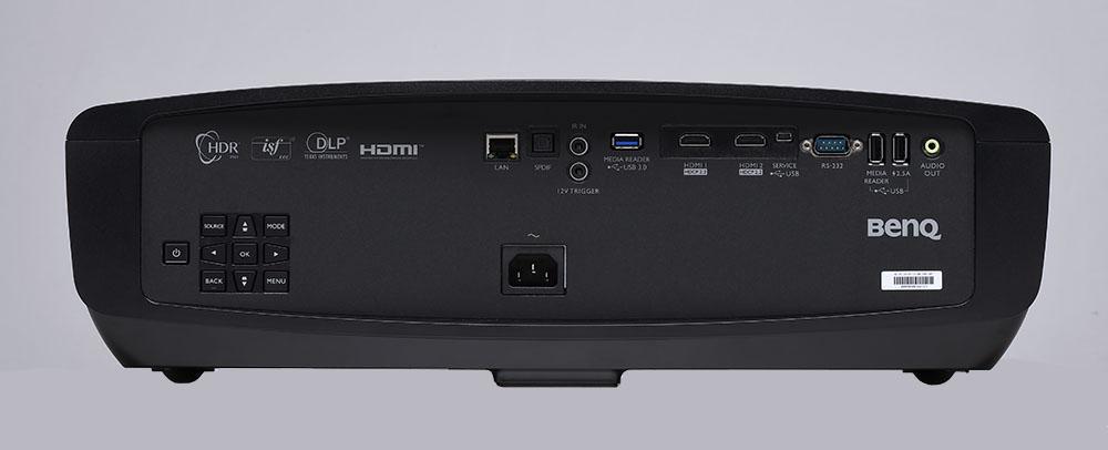 画像: 2系統のHDMI入力を備え、どちらも4K/HDR信号を再生可能