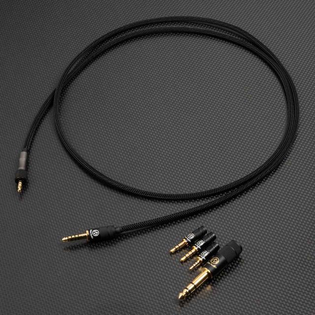 画像: 「MDR-M1ST」専用のリケーブル「BriseHP for MDR-M1ST」。プラグは豊富にラインナップされる
