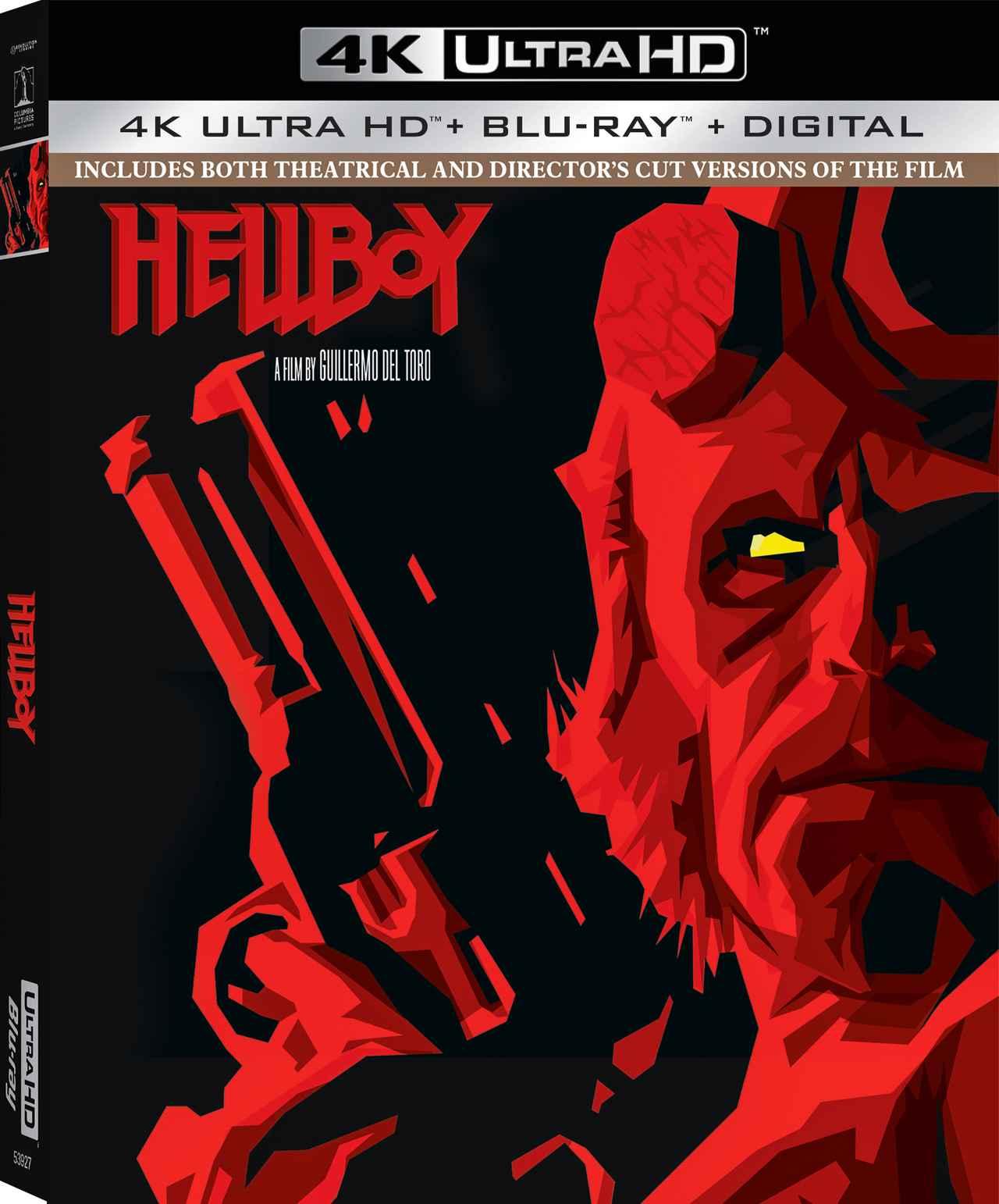 画像: デル・トロ監督作を4Kリマスター&アトモスで『ヘルボーイ:15周年記念版』【海外盤Blu-ray発売情報】
