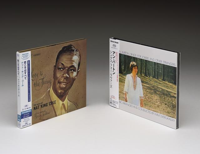 画像: NAT KING COLE/LOVE IS THE THING(左)、ANN BURTON/SINGS FOR LOVERS AND OTHER STRANGERS(右)