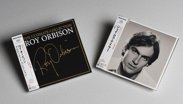 画像: 【右】JAMES TAYLOR/JT 【左】ROY ORBISON/THE ULTIMATE COLLECTION