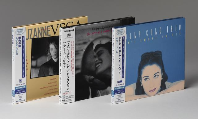 画像: 【右】HOLLY COLE TRIO/DON'T SMOKE IN BED、【中】Fairground Attraction/The First of a Million Kisses、【左】SUZANNE/VEGA