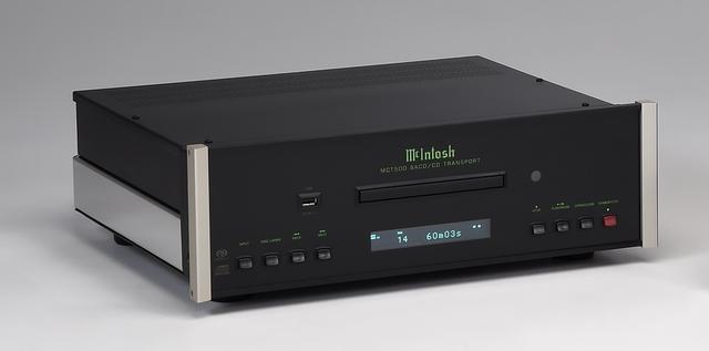 画像: マッキントッシュ、SACD/CDトランスポート最新モデル『MCT500』