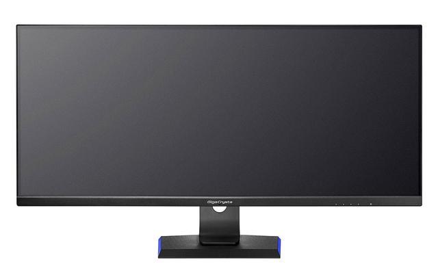 画像: 21:9アスペクトの34型ゲーミングモニター「LCD-GCWQ341XDB」