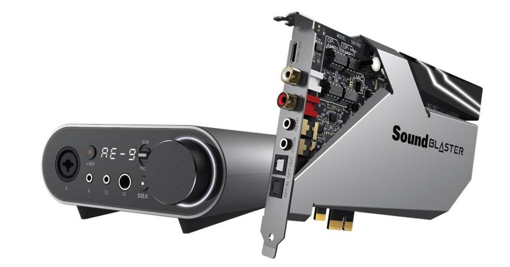 画像: Sound Blaster AE-9