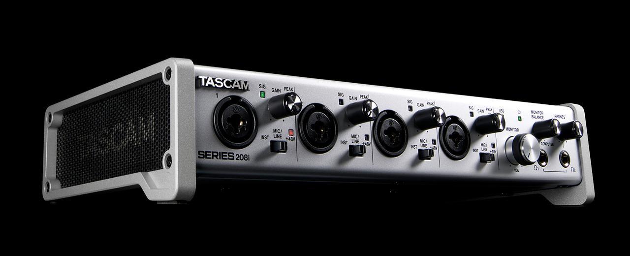 画像: SERIES 208i   製品トップ   TASCAM (日本)