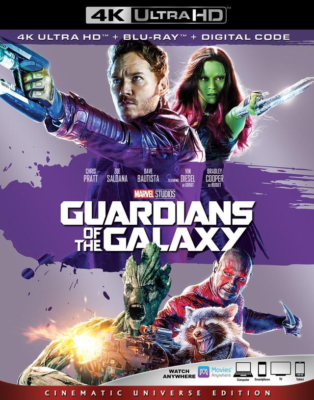 画像1: 10月の4Kマーベル・シネマティック・ユニバース『ガーディアンズ・オブ・ギャラクシー』『アントマン』『ドクター・ストレンジ』【海外盤Blu-ray発売情報】