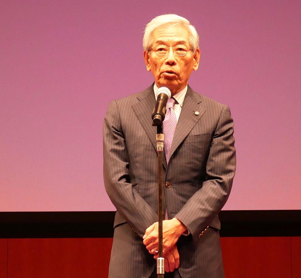 画像: A-PAB理事長 福田氏