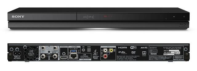 画像: 2KモデルのZT/ZWシリーズはW430×H43.9×D208.6mmの薄型デザインを採用。HDMI端子は1系統のみ備える